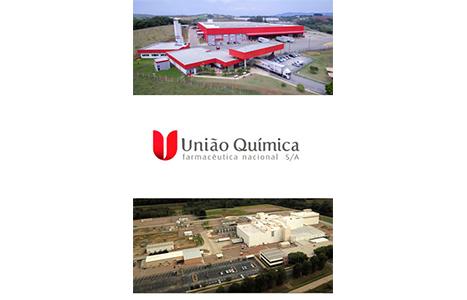 Inauguração do Centro Logístico e Parque Gráfico, em Pouso Alegre (MG). Nova logomarca União Química. Aquisição da fábrica de biotecnologia da Elanco (Eli Lilly) na Georgia (EUA)